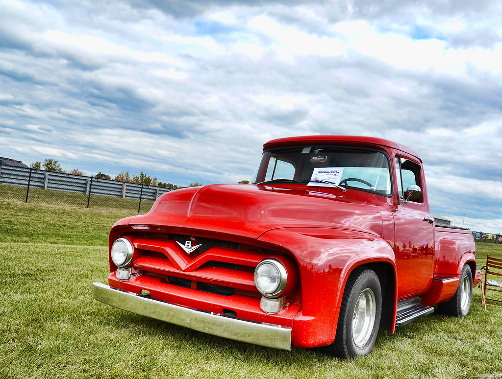1955 Ford F100 A Photo On Flickriver Red
