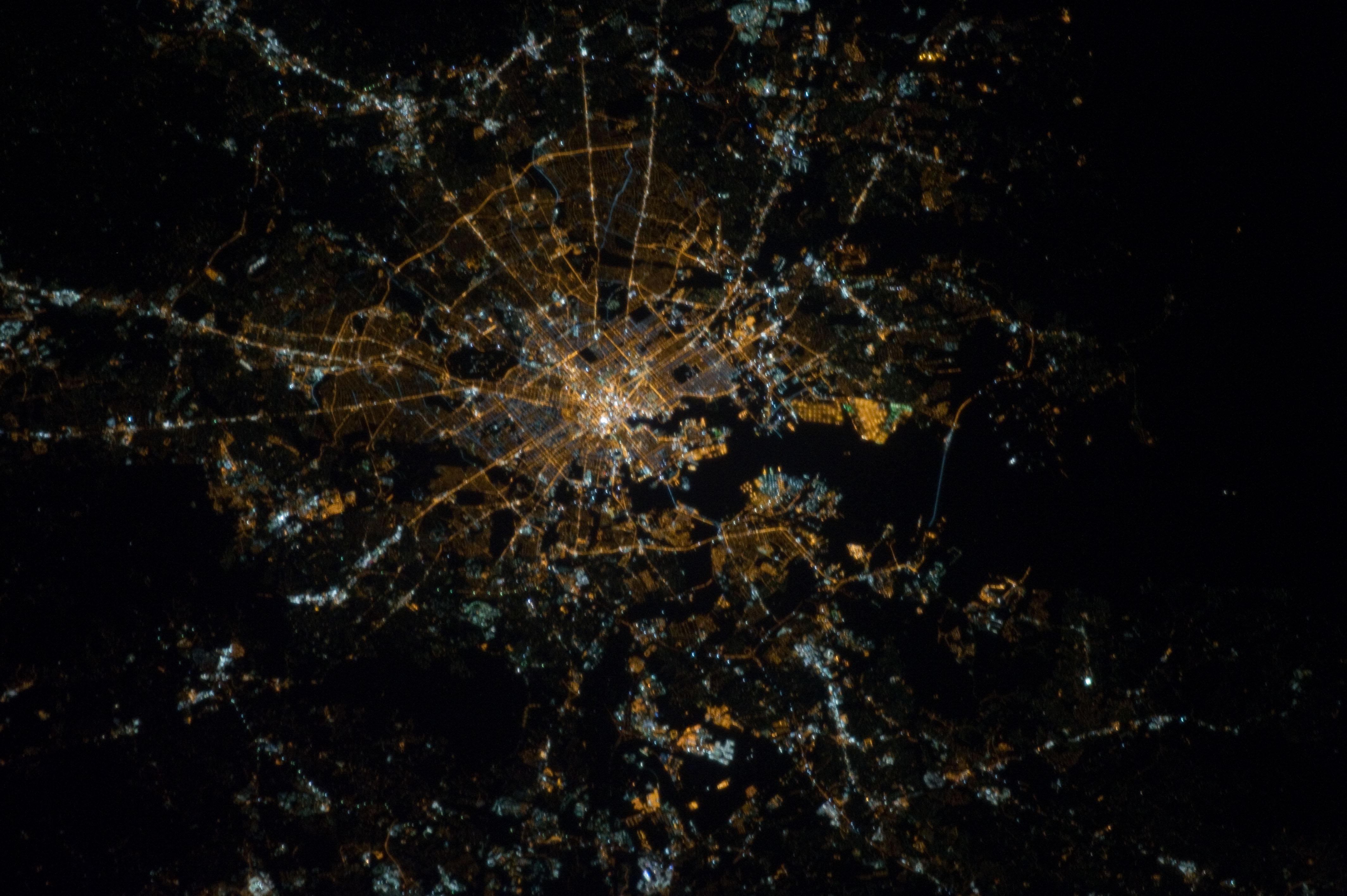 Baltimore, Maryland at Night (NASA, International Space ...