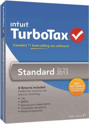 TurboTax Standard TY13 large