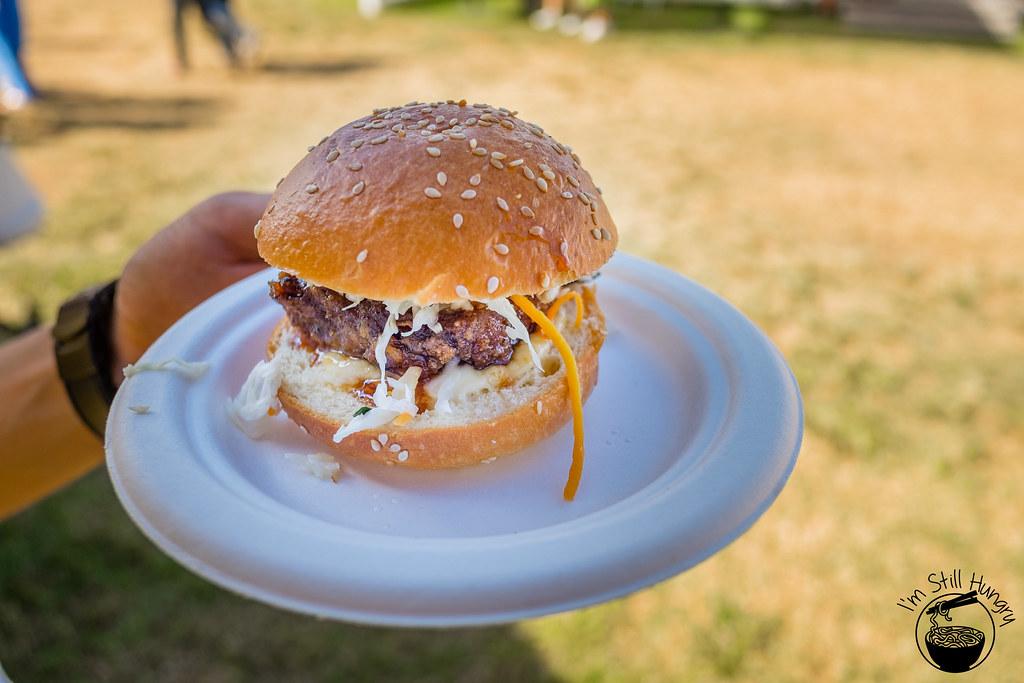 Chur Burger taste of sydney