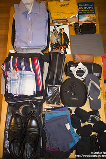 What's in my bag - Suitcase
