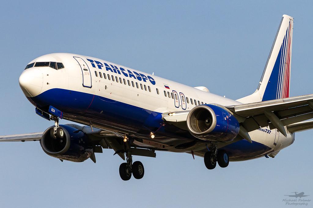 EI-EEA Transaero Airlines Boeing 737-8K5(WL)