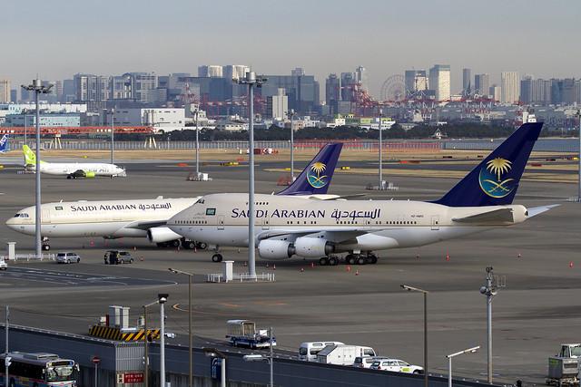 Saudi Arabian B747SP