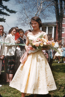 Janie Parsons, May Court 1956, Allegheny College, Meadville, PA