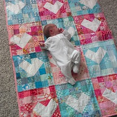 Huge thanks to the awesome ladies of the Do.Good.Stitches #carecircle as well as @makingrebeccalynne and Lucy of Charm About You for this oh-so-gorgeous quilt for Heidi.  What a lovely surprise.  I am so grateful.