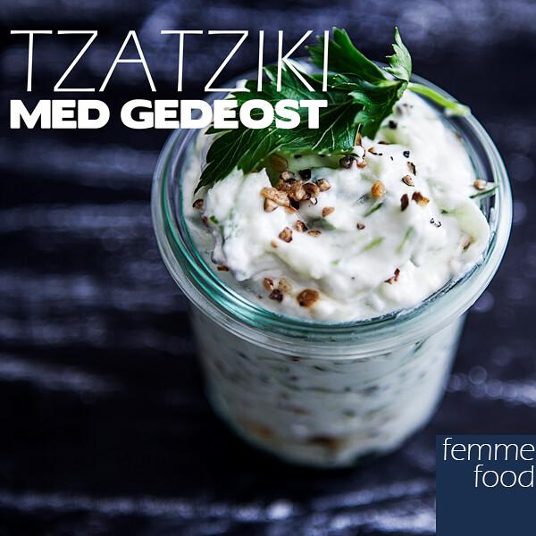 Tzatziki med gedeost