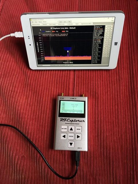 RF Explorer 6G combo | Till | Flickr