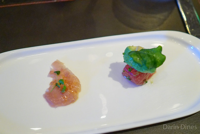 DUO OF YELLOWTAIL & TUNA
