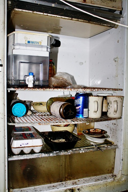 Ma Bell's fridge