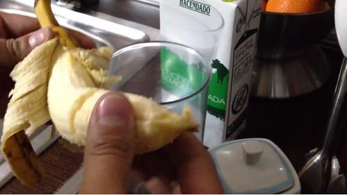 80% Como hacer un batido de plátano