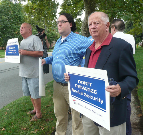 Ray Myers at Platts Protest