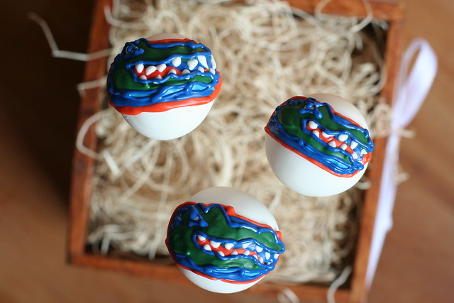 University of Florida Cake Pops
