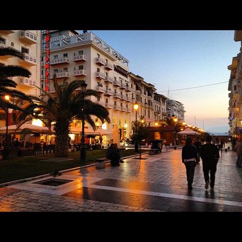Thessaloniki dusk