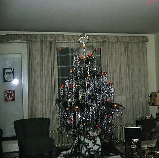 West Germany   -   Kitzingen   -   Marshall Heights   -   Bldg 330  A  c-1   -   Our First Christmas Tree   -   December 1969