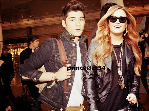 Zayn Malik With Demi Lovato zayn malik and ...