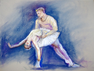 Drawing - Ballet Couple