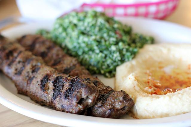 Delicious Lebanese food!