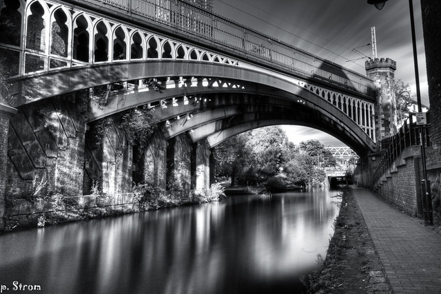 The Rochdale Canal Bridge