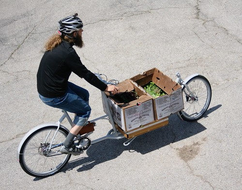 Santa Cruz cargo bike ride