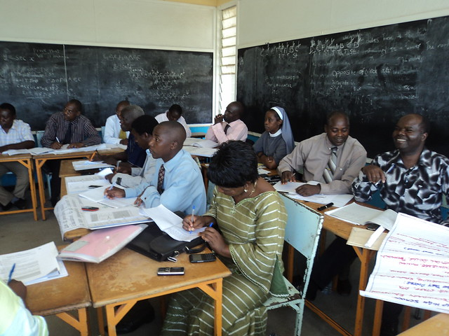 Workshop in Zambia, Mufulira College of Education