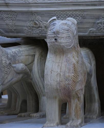 Patio de los leones - La Alhambra