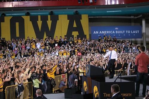 Obama @ Iowa #2