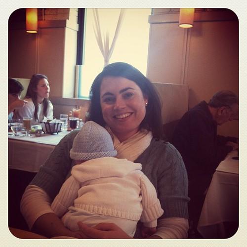 Bryn & baby Jack