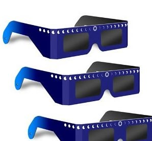 5月21日の金環日食に向けてAmazonで太陽日食メガネを家族分買いました