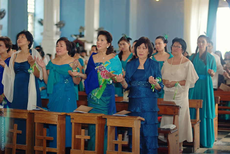 Bohol Wedding Photography, Dauis Church Wedding