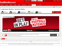 Ladbrokes Mobile Betting Promotions