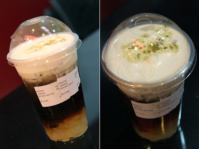 Gong Cha Milk Winter Melon Tea