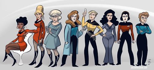 The Ladies of Star Trek