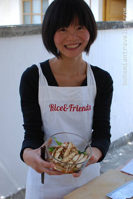 Luxi of Rice & Friends Cooking School