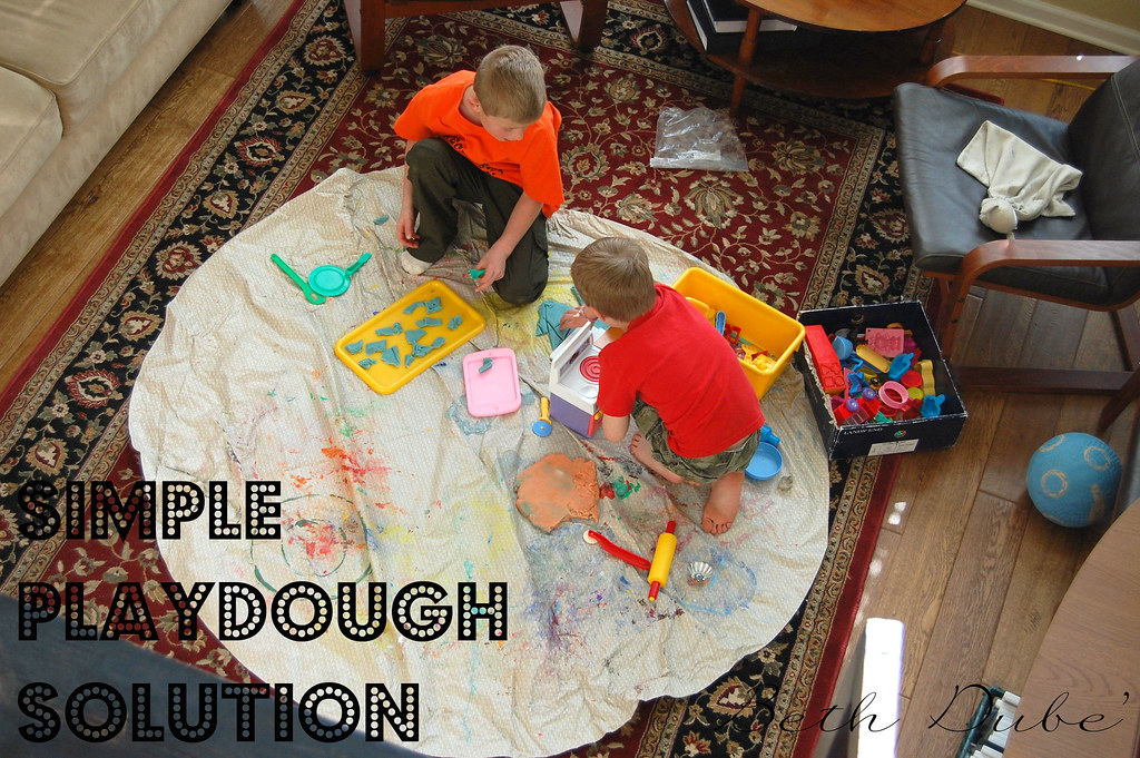 simple playdough solution