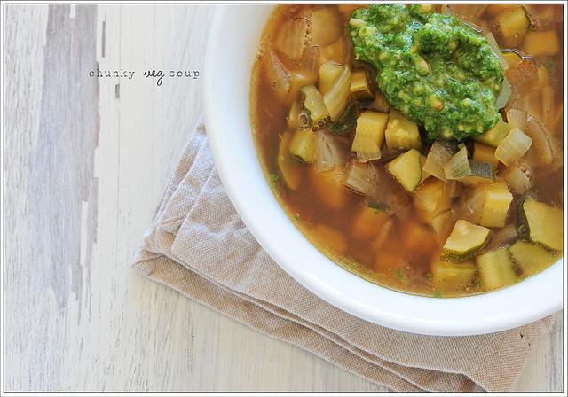 20. chunky veg soup
