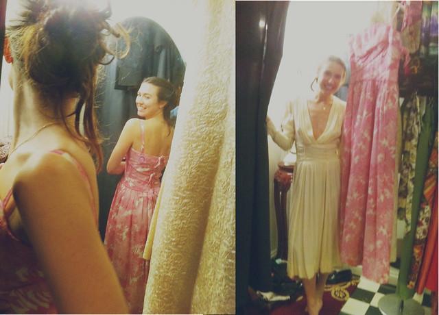 bridesmaid dress hunting.