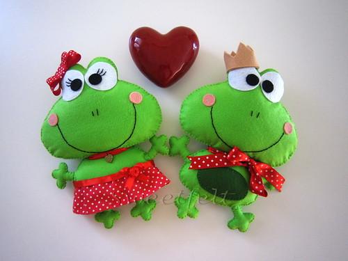 ♥♥♥ LOVE... by sweetfelt \ ideias em feltro