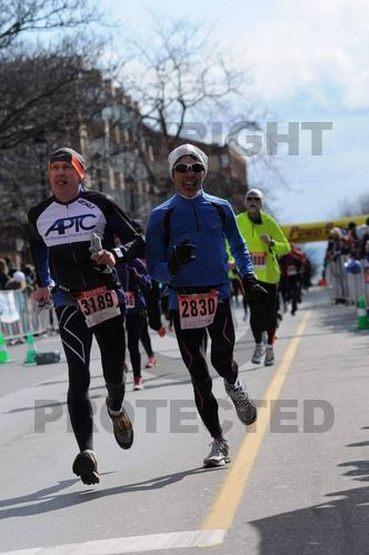Finish line sequence #8