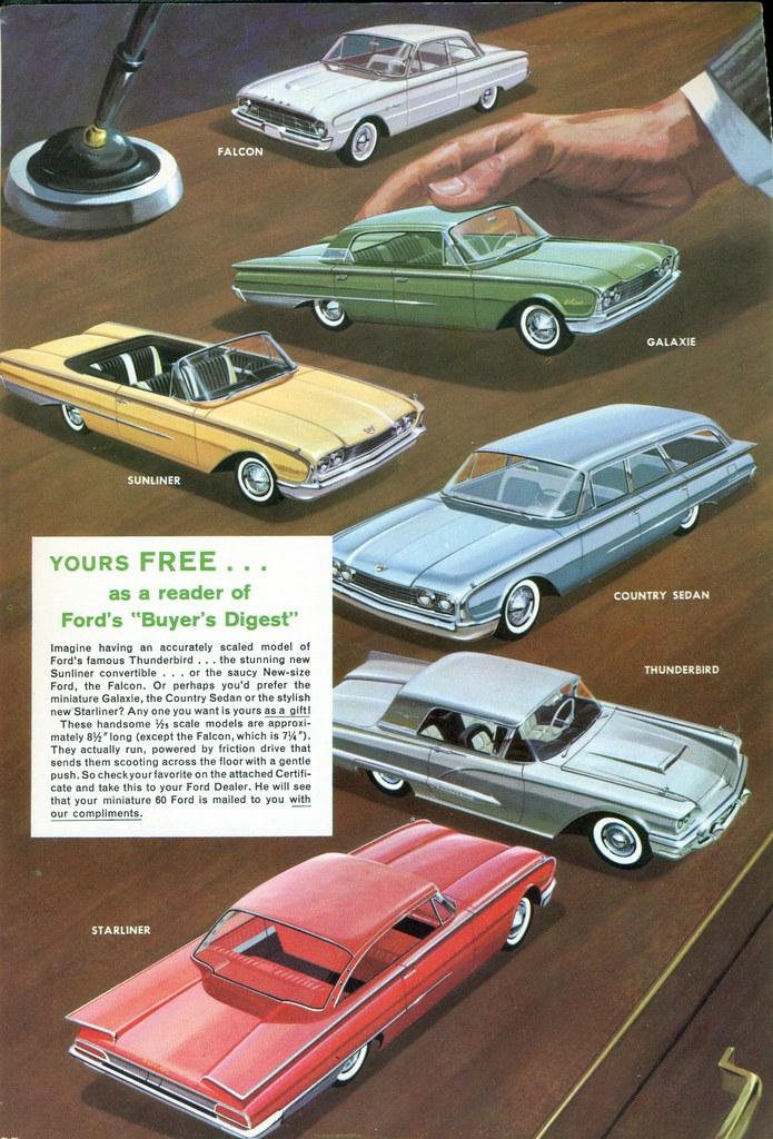 1960 Ford Promo Models