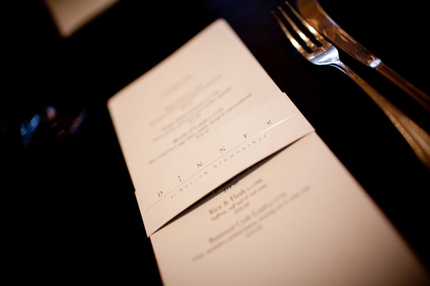 Dinner Heston Blumenthal Menu