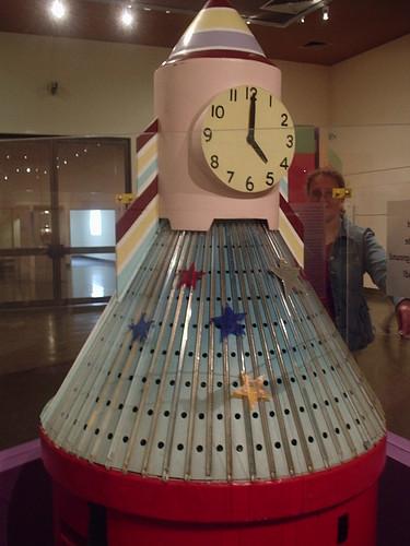 Rocket Clock Front