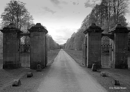 Murthly Castle Gates.