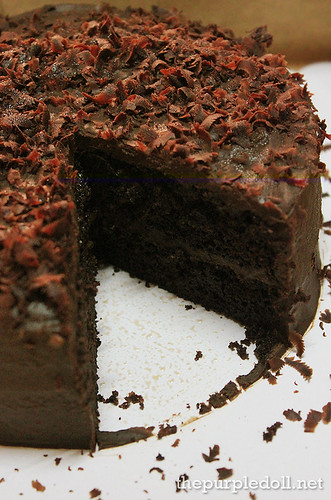 Frank&Carols 6-inch Dark Chocolate Cake P550