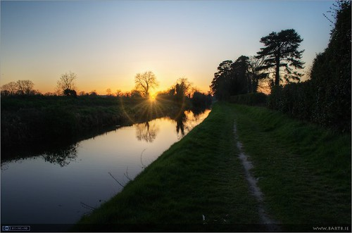 A Royal Canal Sunset