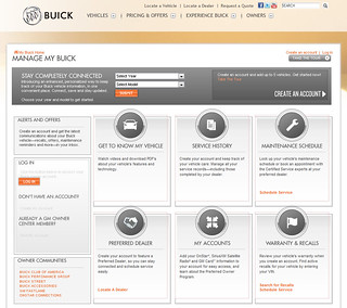 Manage My Buick - Owner Center