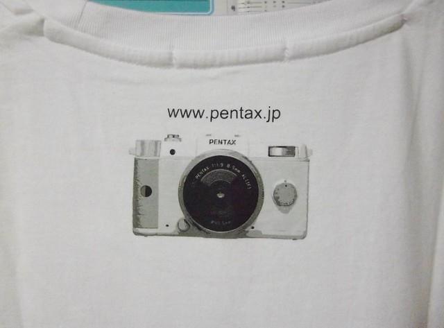 ペンタックスTシャツ