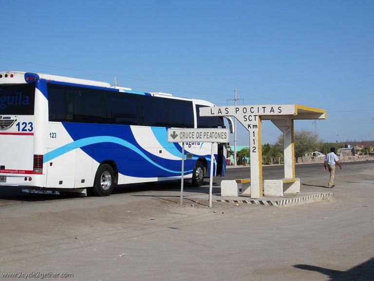 Bus Stop, Las Pocitas