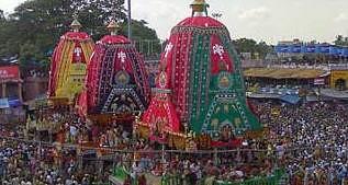 Puri Rath Yatra chariots reach destination
