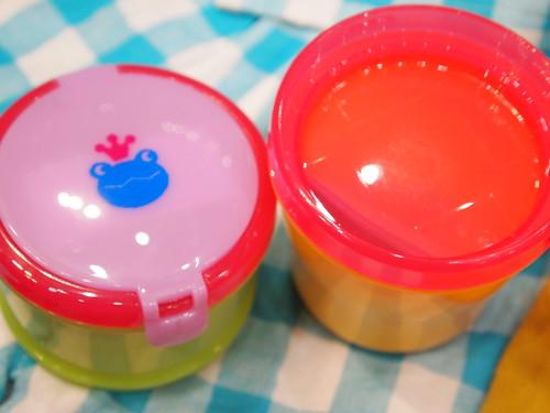 赤ちゃん用 お弁当箱 離乳食 保冷剤付き