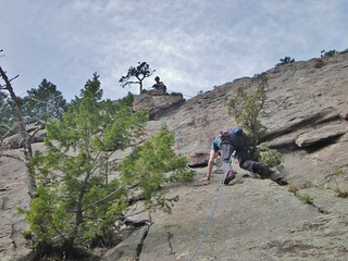 Andy Cleaning First Pitch of Flatironette